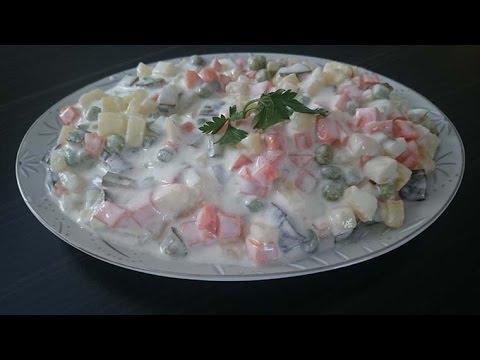 Rus Salatası Nasıl Yapılır
