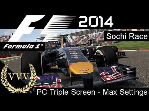 F1 2014 Sochi - PC Version Max Visual Settings