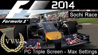 F1 2014 Sochi - PC Version Max Visual Settings