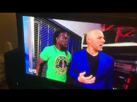Download Raw: R Truth, AJ Styles, Omos and Adam Pearce Backstage Segment