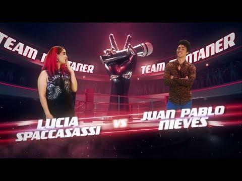 ¡Ricardo, Mau y Ricky Montaner preparan a Lucía y Juan Pablo! - La Voz Argentina 2018