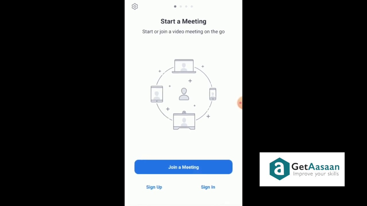 How To Install And Use Zoom Cloud Meeting App In Tamil Youtube