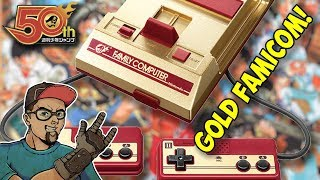 Gold Nintendo Famicom Mini - Unnecessary Game Collecting!