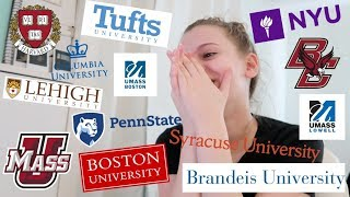 i applied to 18 schools... here