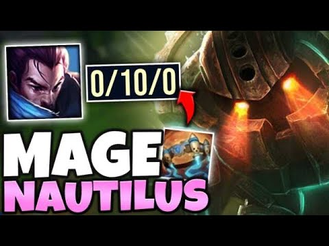 I MADE YASUO GO 0/10 WITH MY AP NAUTILUS MID! (ZERO COUNTERPLAY) - League Of Legends