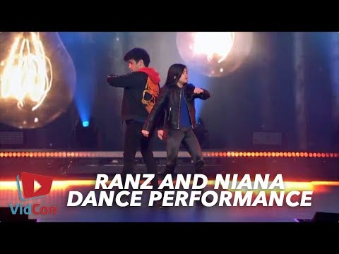 Ranz and Niana   Vidcon Night Of Dance 2018