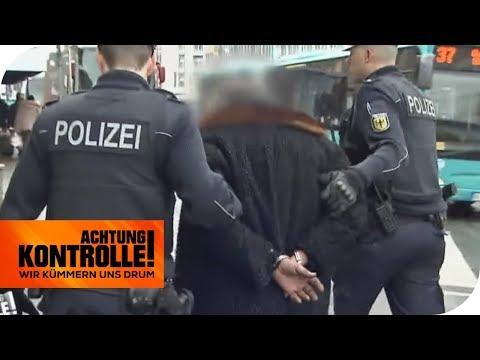 Festnahme in der Bahnhofsmission: Wer ist der Randalierer? | Achtung Kontrolle | kabel eins