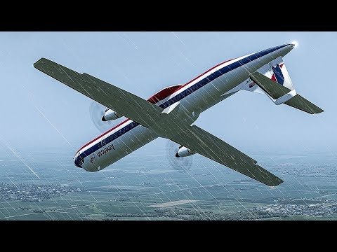 Frozen Horror | Plane Crashes Just Before Landing In Chicago | American Eagle Flight 4184