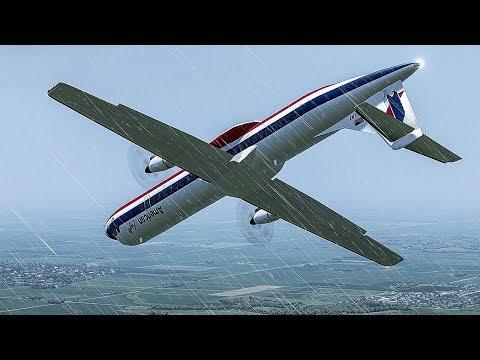 Frozen Horror | Plane Crashes Just Before Landing in Chicago | American Eagle Flight 4184