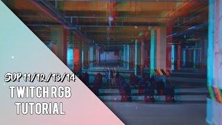 Sony Vegas Pro | Twitch/RGB | 3 Versions | Effect/Transition #17