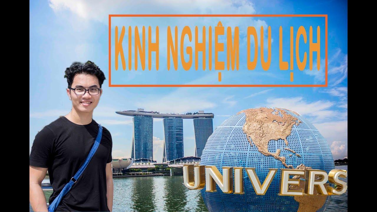 🇸🇬Vlog – Chia sẽ | 5 KINH NGHIỆM DU LỊCH SINGAPORE – Dành cho người mới