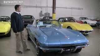 1965 Corvette L76 Convertible NCRS Second Flight