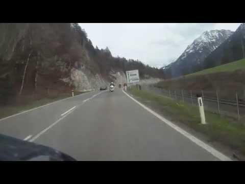 Gold Wing tra le Montagne Dell'Austria Video di Donatello Pistelli ( Montaggio di Carmelo Goffredo )