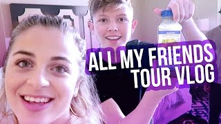 ALL MY FRIENDS TOUR VLOG | Baby Ariel