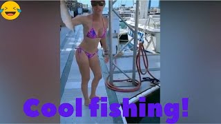 Прикольные случаи на рыбалке и не только Funny cases on fishing and not only