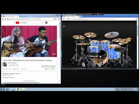 Dash Uciha - Merindukanmu (Vdrum Cover) Cover By Ferachocolatos Ft. Gilang
