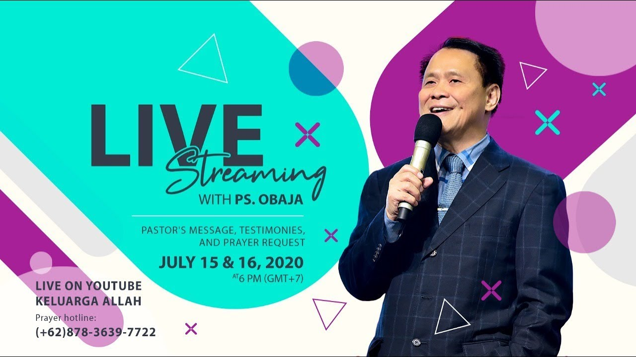 Perkataan Iman Ke 2 | Live Streaming With Ps Obaja