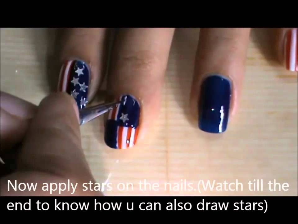 Memorial day nail art 4th of july nail designs youtube memorial day nail art 4th of july nail designs prinsesfo Choice Image