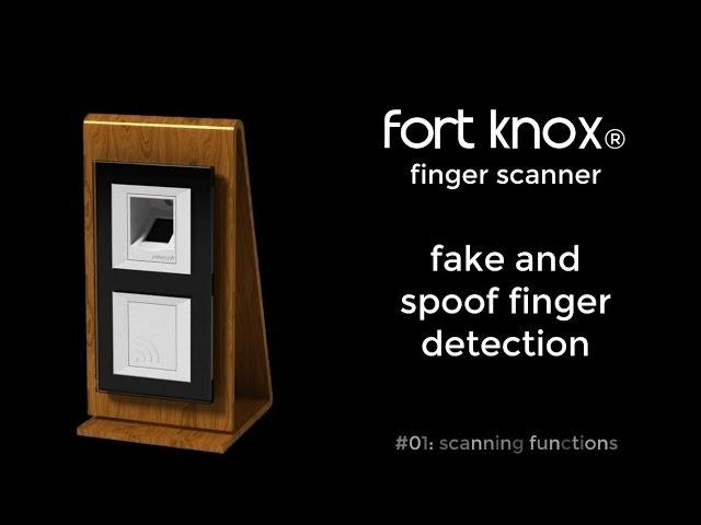 patesco.ag - fort knox - fingerprint scanner - fake and spoof detection