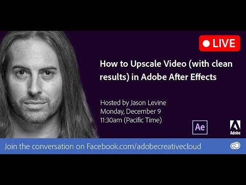 How to Upscale Video (with the best results) in After Effects