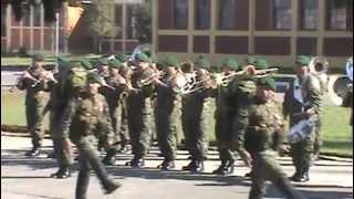 Desfile Aniversario Regimiento de Infantería N°8 Tucapel 2013