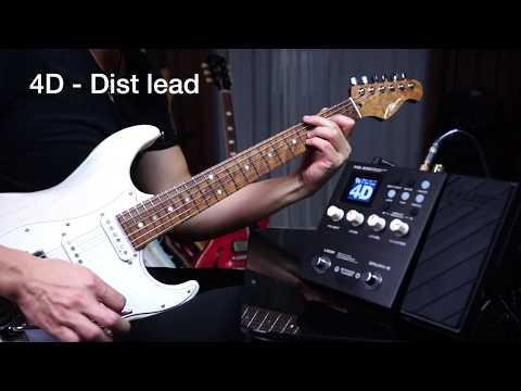 Tone Demo | NUX MG-300 Modelling Guitar Processor | Vinai T