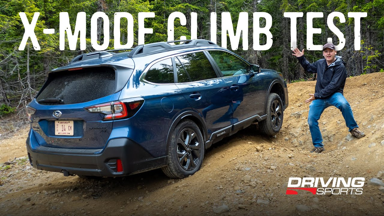 Dual X-Mode Offroad Climb Test - 2020 Subaru Outback Onyx XT