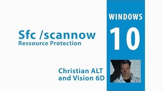 sfc /scannow ●  Windows Resource Protection could not start the repair service.  ●  2 min