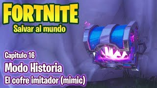 FORTNITE SAVE THE WORLD #16 - THE IMITADOR COFRE - GAMEPLAY IN ENGLISH