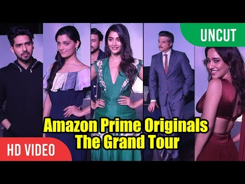 UNCUT - Amazon Prime Originals | The Grand Tour | Anil Kapoor, Pooja Hedge, Neha Sharma