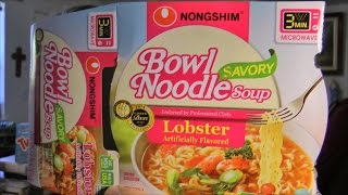 Savory Lobster Bowl Noodle Soup Review
