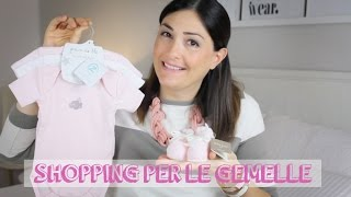 KIDS: Shopping per le gemelle ♡ Thumbnail