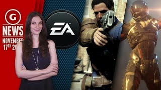 "EA Making ""Gigantic Action Game"" & New Mass Effect Protagonist Revealed? - GS Daily News"