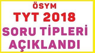 2018 Tyt Soru Tipleri Açıklandı (ösym) Şenol Hoca Matematik