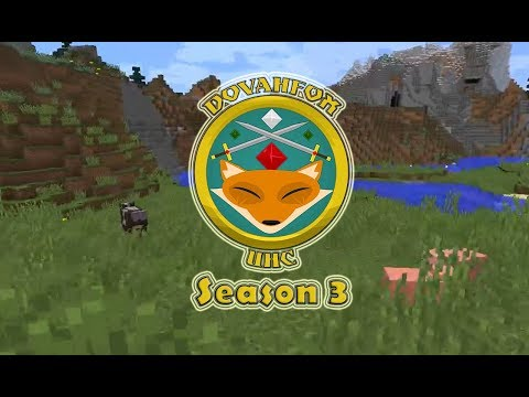 E1 | Dovahfox UHC | Season 3 | Cow Tipper | Minecraft 1.12.2 | Felix Vogel UHC Plugin