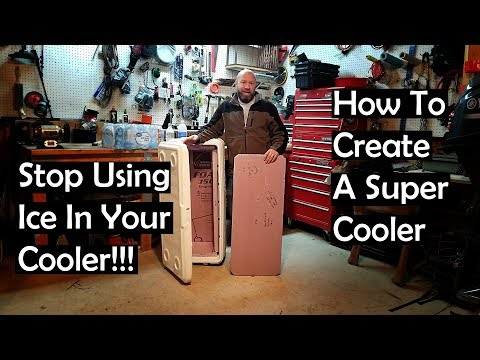 Stop Using Ice In Your Cooler And How To Modify A Cooler For Hunting