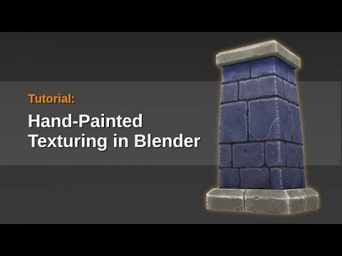Tutorial - Hand Painted Textures in Blender
