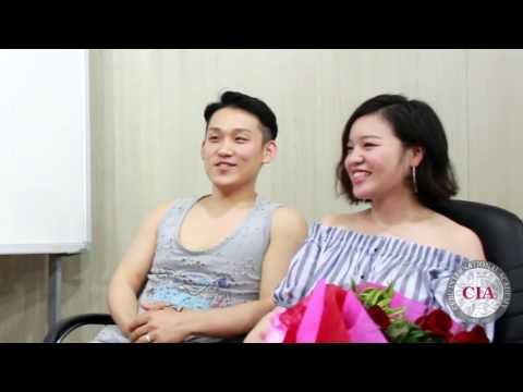 (English School in Cebu Philippines) Cebu International Academy - Old Students Married Couple