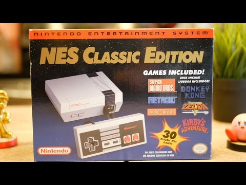 NES Classic Edition Review - Nintendo Mini Console!