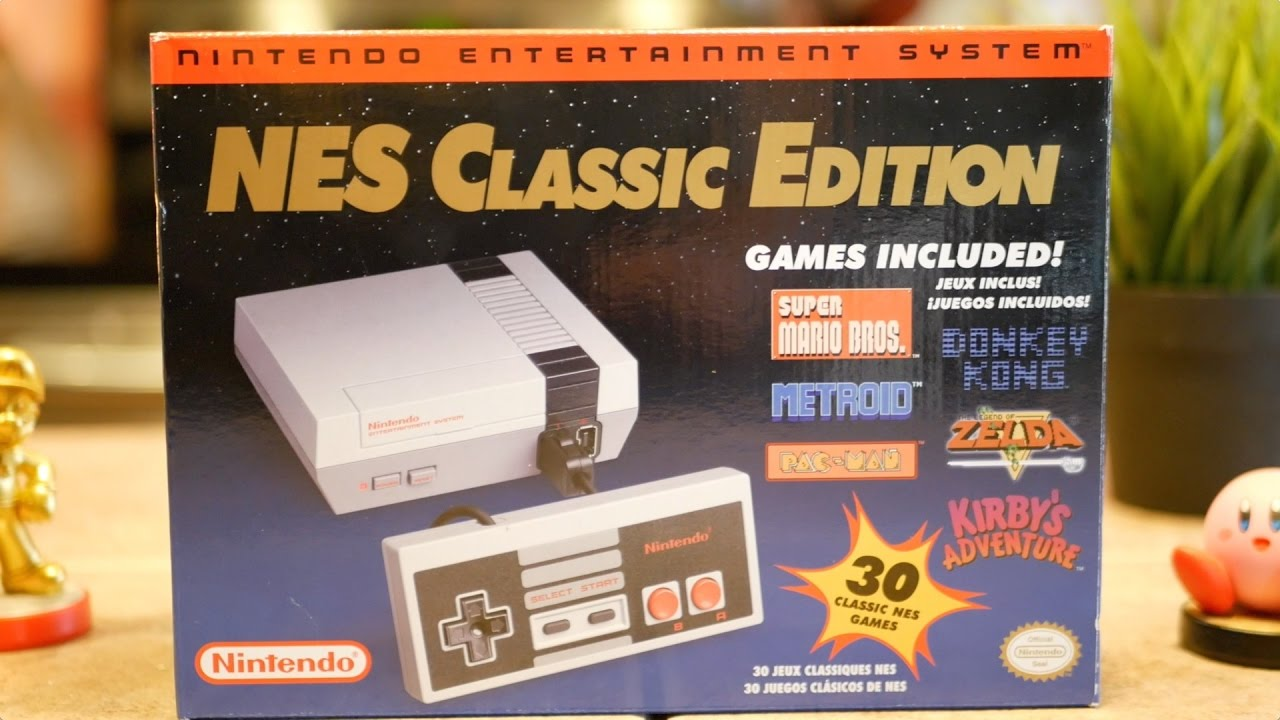 Nes Classic Edition Review Nintendo Mini Console Youtube