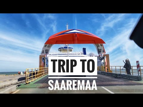 Trip from Saaremaa on new ship called Piret