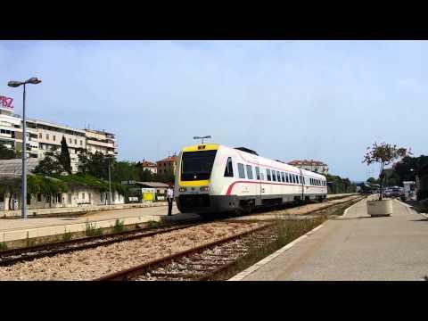 ICN-train leaving from Split to Zagreb