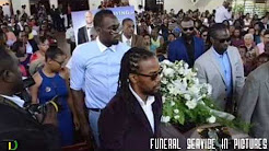 Germaine Mason's Funeral Service in PICTURES plus SETUP/NINTH-NIGHT Clips. #COMMENTARY