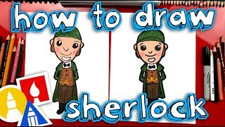 How To Draw Sherlock From Sherlock Gnomes - GIVEAWAY!