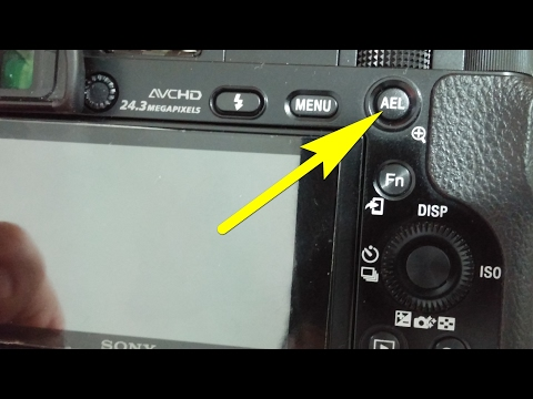 A6000: How to Lock Exposure while shooting Video (AEL button)