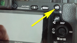 a6000 how to lock exposure while shooting video ael button