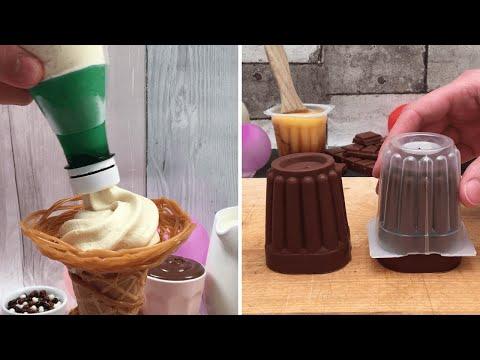 frozen-desserts,-perfect-desserts-🥶-super-creme-caramel-🥮-diy-soft-serve🍦-all-about-the-chocolate-🍫
