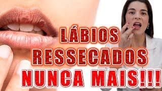 Adeus LÁBIOS RESSECADOS e RACHADOS - Tenha Lábios Super Hidratados e Macios !