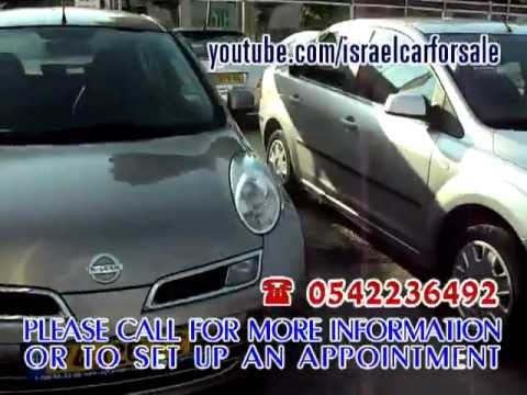 Israel Used Cars For Sale Under 20000NIS, Tel 0542236492