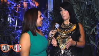 FASHION FREAK TV Marielle Araujo entrevista a GIANNINA AZAR Tribal 2013